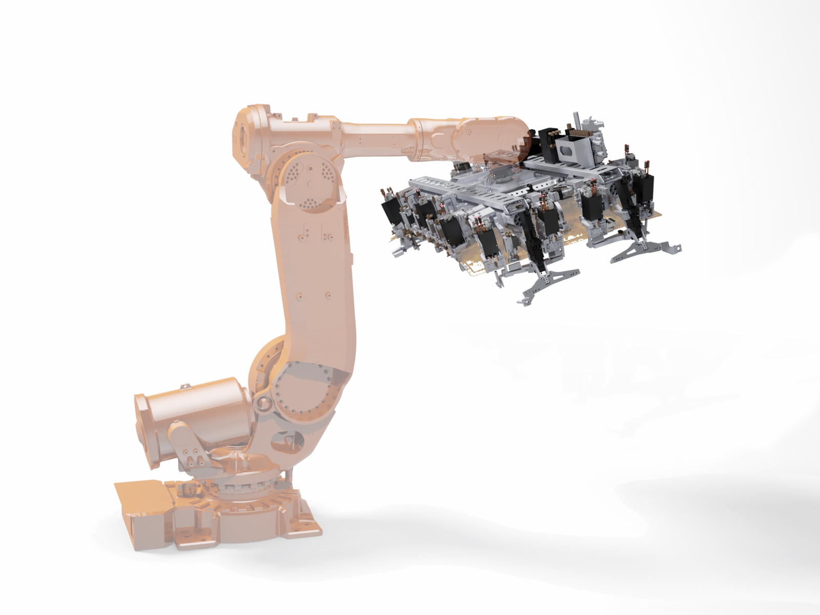 Aluminium Profile System And Robot Gripper F Ee Partner